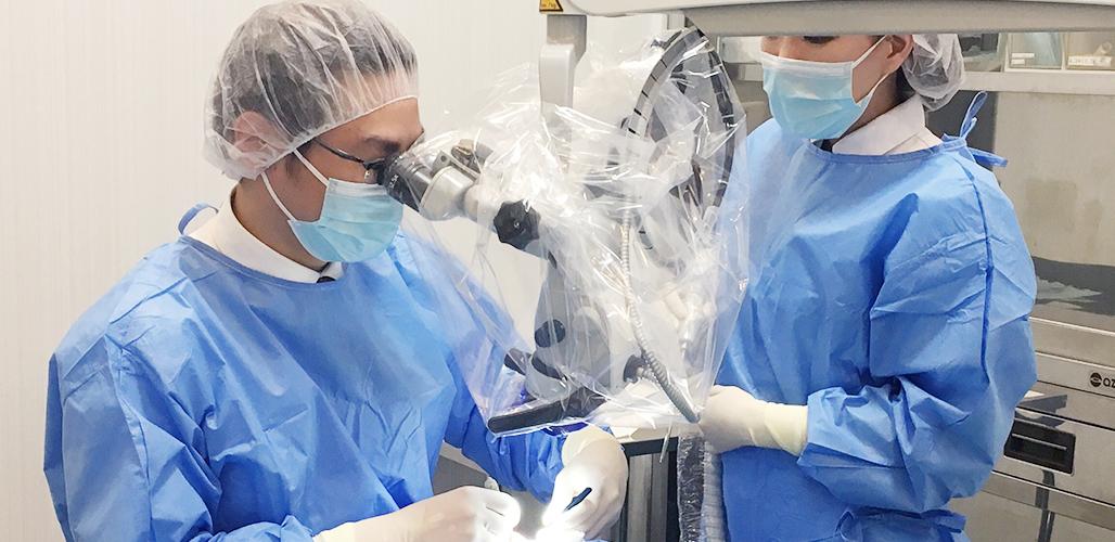 アストラテックインプラント公認インストラクターのみ手術を担当